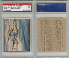 R173 Gum Inc, The World In Arms, 1939, #4Brit.Mayo Composite, PSA 3 VG