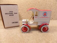 1990's ERTL 1/25 Scale Diecast AMOCO Oil 1905 Ford First Delivery Car Bank
