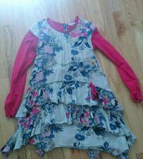 eliane et lena 6 6a 6 ans girl floral multicolor dress