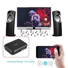 NFC Wireless Bluetooth Audio Receiver Stereo Music Headphone Adapter 3.5mm Jack
