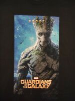 Guardians Of The Galaxy Groot Poster Marvel Comics Licensed Adult T-Shirt
