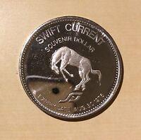 Swift Current Souvenir Dollar 1976 Saskatchewan Summer Games