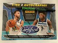 2020-21 Panini Certified Basketball Hobby Box - Factory Sealed! *FREE SHIPPING*
