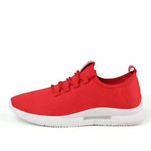 Men's Casual Sneakers Breathable Running Athletic Jogging Shoes Tennis Trainers