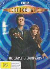 DOCTOR WHO=BBC=Complete Series 4=NEW DVD R4=DR (Fourth)