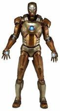 "NECA Iron Man Midas Gold Armor Mark XXI 1/4 Scale 18"" Marvel Action Figure *New"