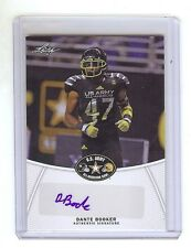 DANTE BOOKER - Ohio State Buckeyes - 2014 Leaf Army Certified AUTOGRAPH RC