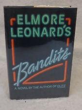 Elmore Leonard BANDITS Arbor House c. 1987 HC/DJ