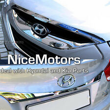 Chrome Hood Trunk Garnish 2EA Genuine For Hyundai Tucson 2011 2015