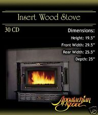 Appalachian 30 CD INSERT Wood Stove Fireplace TRIM KIT