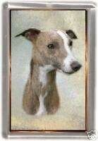Whippet Fridge Magnet No 4 by Starprint
