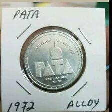 1972 PATA Malaysia alloy medal medallion  rare !!