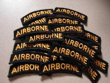 Original 1960s Vietnam War 101st AIRBORNE TABs - 20 Lot