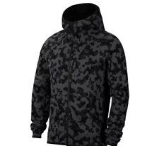 Nike Tech Fleece Gray Camouflage Camo Zip Up Hoodie M