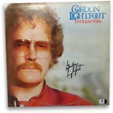 Gordon Lightfoot Signed Autographed Album Cover Endless Wire JSA U16602