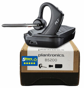 Plantronics Voyager 5200 UC Wireless Headset (206110-101, B5200) Brand New