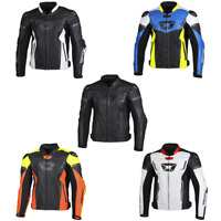 2020 Cortech Apex V1 Leather Street Motorcycle Jacket - Pick Size & Color