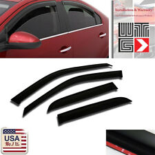 Window Visor Rain Vent Shade Guard Toyota Corolla 4 DR 1998 1999 2000 2001 2002