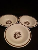 Lancaster By Royal Rimmed Cereal Bowls (3) Discontinued