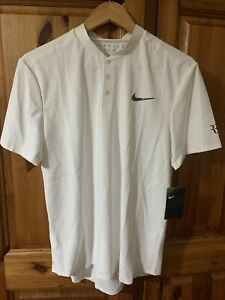 Roger Federer Nike Polo Wimbledon 2017 Size M