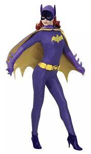 Rubies Batman Series Batgirl Adult Collectors Halloween Costume 887211 Med Used