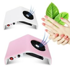 30W 220V / 110V Suction Nail Dust Collector Machine UV Gel Tip Vacuum Cleaner