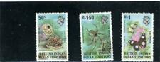 British Indian Terr BIOT 1973 Scott# 54-56  Mint hinged
