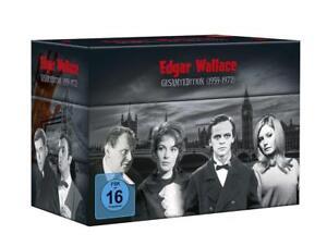 Edgar Wallace Gesamtedition (1959-1972) 33 DVDs NEU OVP
