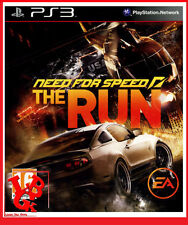 NEED FOR SPEED THE RUN PS3 Playstation 3 Jeu Video NFS simulation course