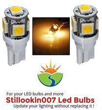 2 - Landscape light bulbs, WARM WHITE 5LED. Replaces 12v T5 Malibu bulbs