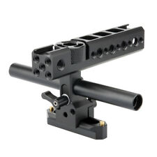 NICEYRIG Nato Top Handle Grip QR Cheese Kit Nato Rail Rod for Camera Camcorder