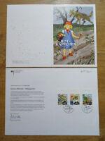Bund Nr. 3208 - 3210 gestempelt ESST auf Ministerkarte BRD 2016 Grimms Märchen