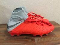 Nike Jr Hypervenom Phantom 3 Elite DF FG ACC Soccer Cleats AJ3791-600 Size 5Y