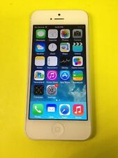 Apple iPhone 5 - 16GB - White & Silver (Verizon and Unlocked) Good Condition