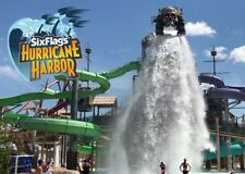 SIX FLAGS HURRICANE HARBOR NJ TICKETS $21.99/ PARKING $9  A PROMO DISCOUNT TOOL