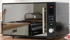 Microwave with Grill and Oven Fan Assisted Russell Hobbs 30 Litre Large Black