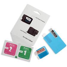 1x LCD Proteggi Schermo & Lente con Kit Pulizia per Fotocamera GoPro Hero5 Black