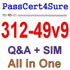 ECCouncil Computer Hacking Forensic Investigator v9 312-49v9 Exam Q&A+SIM