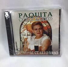 Paquita La Del Barrio Al Cuerto Vaso CD NEW! Rare music Spanish CD