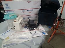 LAERDAL 88-00-01 COMPACT SUCTION UNIT, POWER SUPPLY, CASE AND ACCESSORIES