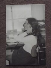 SEXY YOUNG ASIAN LADY IN MINI SKIRT ON THE PHONE, Vtg 1970's PHOTO