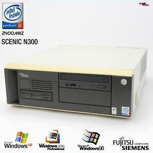 PC Computer Fujitsu SIEMENS SCENIC N300 i845GE D1521 RS-232 Parallel Windows 98