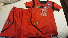 Mathiang 2013 Louisville Cardinals Authentic NCAA Tourney Game Jersey & Shorts