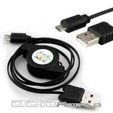 Cable Micro USB para Google Google Nexus S i9023 Retractil Cargador de Datos