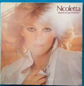 Disk Vinyl 33 Tricks Nicoletta Qu' Es That M' Comes