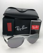 Ray-Ban Polarized Sunglasses Tech RB 8301 004/N8 59-14 Gunmetal w/ Grey Gradient