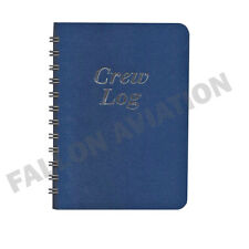 5-Leg Flight Crew Log Book - Trip & Expense Record for Airline Pilots
