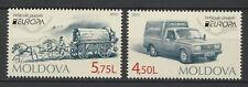 "Moldova 2013 CEPT Europa ""Postal Vehicles"" 2 MNH stamps"