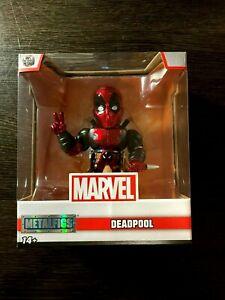 """Jada Metalfigs Die Cast Marvel #M1 Deadpool 4"""" Action Figure Brand New"""