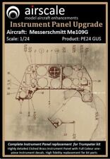 Me 109G Instrument Panel Upgrade, 1/24 scale, Airscale AS24 GUS
